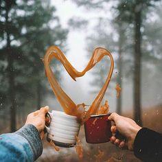 "rustic-bones: ""Sundays are for coffee ☕️❤️ enjoying new collagen coffee creamer ✨ "" Coffee Photography, Creative Photography, Art Photography, Famous Photography, Birthday Photography, Winter Photography, Product Photography, Photography Reflector, Morning Photography"