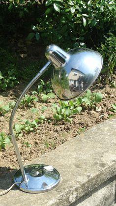 lampe a poser vintage CHROMEE  vintage années 50