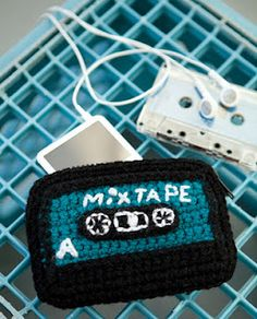 Free Crochet IPod Case/Coin Purse Pattern from Crochet Today