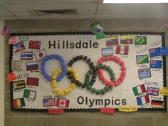 Another Olympics bulletin board idea