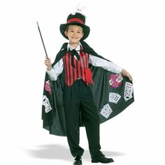 Our collection of magician costumes for adults and kids are great for a funny and unique Halloween costume. Get one of our magic wands, capes or other magician costume accessories. Costume Halloween, Costume Garçon, Circus Costume, Up Costumes, Costumes 2015, Halloween 2017, Halloween Masks, Costume Ideas, Cool Card Tricks