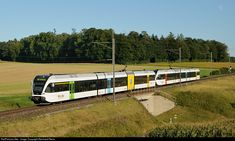 526 772 Thurbo GTW at Marthalen, Switzerland by Reinhard Reiss Swiss Railways, Reiss, Public Transport, Transportation