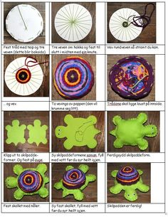 Bilderesultater for Skilpadde Vev i papp Yarn Crafts, Diy And Crafts, Arts And Crafts, Diy For Kids, Crafts For Kids, Third Grade Art, Art Assignments, Weaving Yarn, Textiles