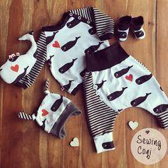 Hallo ihr Lieben, heute zeige ich euch ein weiteres Outfit für die ganz Kleinen. Ich bin sooo verliebt :) Ich habe mir diesmal gedacht...