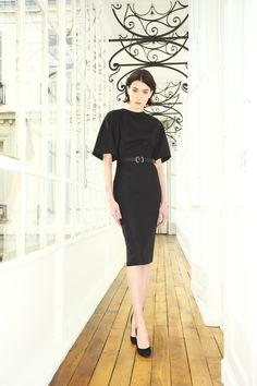 The little black dress is a simple evening/cocktail dress made famous by Coco Chanel in the 1920's. This style of dress has further remained a timeless staple piece for women. Fabric types varies but it was originally made of wool.  Emma Sander 4-7-16