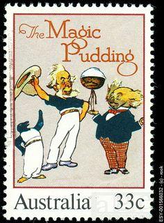 Sam Sawnoff, Barnacle Bill, the Magic Pudding and Bunyip Bluegum, (a splendid young koala)