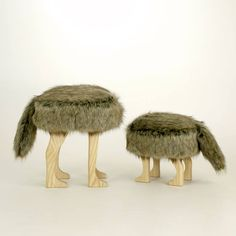 Animal Stool_Coyote Brown S – OUT OF STOCK
