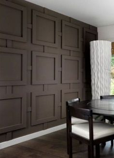 New living room wood trim wainscoting Ideas - All About Decoration Interior Walls, Interior Design, Interior Ideas, Design Design, Design Ideas, Design Inspiration, Accent Wall Designs, Accent Decor, Wall Trim