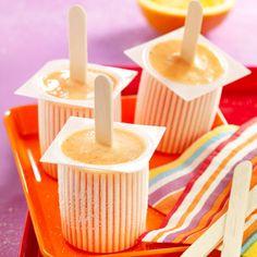 Petits-suisses glacés miel et agrumes