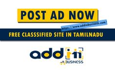 Free Classified Ads in Tamilnadu, Post Free Classifieds Tamilnadu, Tamilnadu Free Classified Site, Best Free Classifieds Tamilnadu, Top Free Classifieds Tamilnadu, No.1 Free Classifieds Tamilnadu, Popular Free Classifieds Tamilnadu, PR Free Classifieds Tamilnadu, High PR Free Classified Site Tamilnadu Post Ad, Free Classified Ads, Business Offer, Top Free, Advertising, Popular, Website, Things To Sell, Most Popular