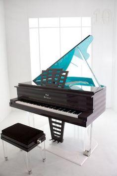 Art Deco - Inspired Piano