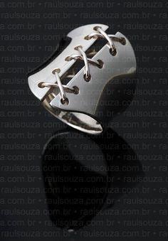 bague corset fait la main matriel argent sterling950 dimensions 24