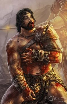 Crixus the undefeated gaul by Brolken on DeviantArt