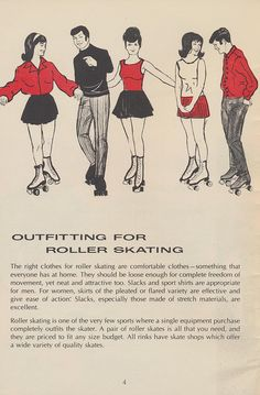 1971 - What you should wear when you go roller-skating