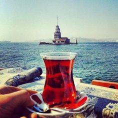 Drink a turkish tea by the Bosphorus. | #GlobalLife2014