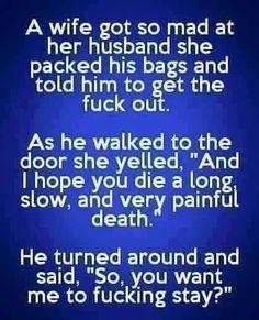 Funny man and wife jokes - http://jokideo.com/funny-man-and-wife-jokes/