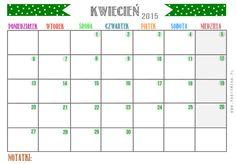 Kalendarz na rok 2015 do druku!