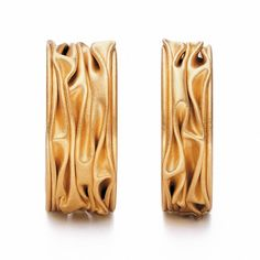 www.ORRO.co.uk - Niessing - Plisse Wedding Rings - ORRO Contemporary Jewellery Glasgow...