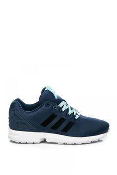 68292d4e7d91 Navy Blue Adidas Mi ZX Flux Sneaker Adidas Flux