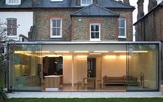 Perfect extensions A top-notch single-storey extension will cost House Extension Design, Extension Designs, Glass Extension, Roof Extension, House Design, Extension Ideas, Extension Google, Building An Extension, Orangerie Extension