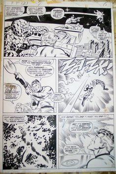 Fantastic Four 121 page 15 Comic Art
