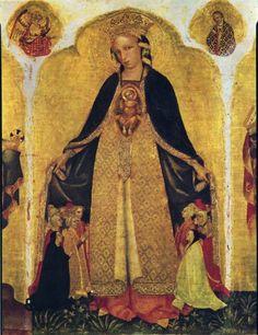 Jacobello del Fiore - Madonna della misericordia - 1420-1435 - Venezia, Gallerie dell'Accademia