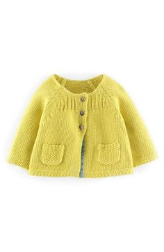 19 Ideas For Baby Dress Knitted Mini Boden Baby Vest, Baby Cardigan, Knit Cardigan, Baby Girl Cardigans, Baby Sweaters, Mini Boden, Baby Knitting Patterns, Baby Patterns, Winter Baby Clothes