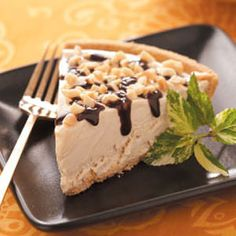 Peanut Butter Pie (this recipe has less fat than the regular recipes... but still tastes great!)