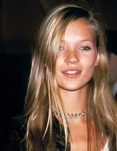 Remember her beachy highlights? Take a Look at Kate Moss's Hair Evolution from model to muse   ELLE UK
