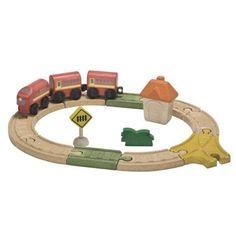 Kolejka drewniana, Plan Toys