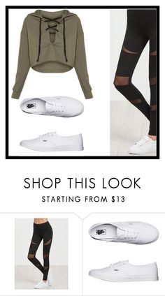 """""""Untitled #148"""" by nikki5673 ❤ liked on Polyvore featuring Vans"""
