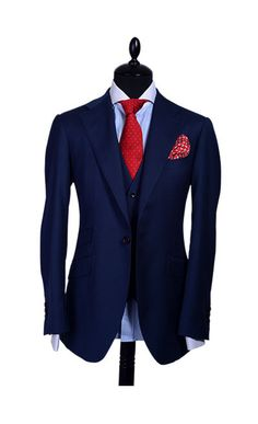 FABRIC CODE: DBN657A SUPER130 WOOL FABRIC WEIGHT: 270G/M FABRIC DESIGN: PLAIN *ADD VEST FOR AN ADDITIONAL $100