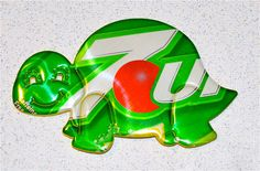 Recycled Soda Can ArtLarge  Turtle Magnet by apmemory on Etsy, $3.25