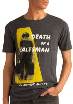 I would love to see someone wearing this and ask them the plot of the play... i bet they never read it