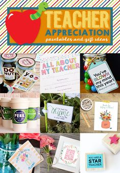 Teacher Appreciation Printables: Free Printable Coffee Cup Wraps as well as 8 other fun Teacher Appreciation Printables