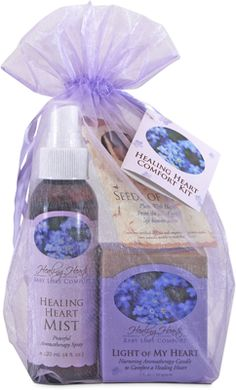 How thoughtful of a company to recognize that mothers of a baby loss need self-care too.   Healing Heart Comfort Kit - Baby Loss Healing Gifts