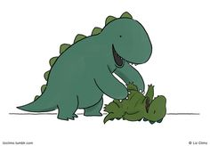 Here comes the tickle monster  © Liz Climo
