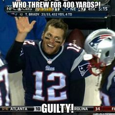 New England Patriots Tom Brady funny face Nfl Jokes, Funny Football Memes, Funny Nfl, Funny Sports Memes, Nba Memes, Hilarious, Funny Jokes, Patriots Football, Patriots Memes