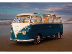 Volkswagen Behang Wallpaper VW Van