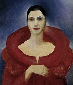 """O """"Autorretrato"""" de Tarsila pode ser conferido no Museu Nacional de Belas Artes do Rio de Janeiro"""