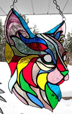 Imgur Post - Imgur stained glass cat