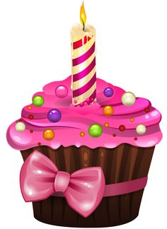 Gateauxtubes Happy Birthday Cakes Art Kids Cards Cupcake Clipart
