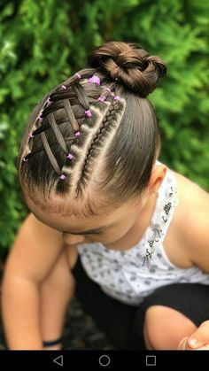 Super hair styles for girls curly 41 ideas Childrens Hairstyles, Lil Girl Hairstyles, Teenage Hairstyles, Kids Braided Hairstyles, Pretty Hairstyles, Natural Hairstyles, Toddler Hairstyles, School Hairstyles, Hairdos