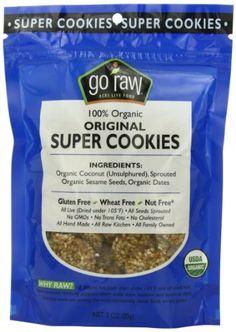 Go Raw Freeland Super Cookies, Original, 3.0-Ounce Bags (Pack of 6) - http://goodvibeorganics.com/go-raw-freeland-super-cookies-original-3-0-ounce-bags-pack-of-6/