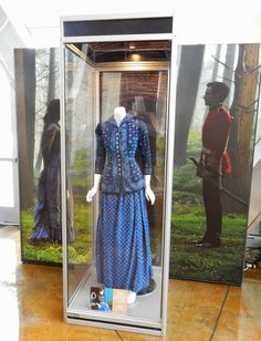 Hollywood Movie Costumes and Props: Carey Mulligan's Far From The Madding Crowd costume on display... Original film costumes and props on display