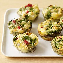 vegetable frittatas