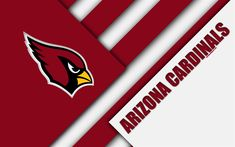 American Football, Arizona Cardinals Wallpaper, Nfl Logo, Arizona Usa, Football Wallpaper, Sports Wallpapers, National Football League, Material Design, Red And White