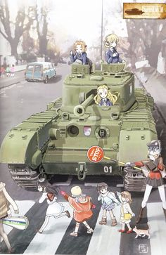 Girls und panzer season 2