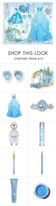 """""""#312 Disney Princess: Cinderella"""" by pinky-chocolatte ❤ liked on Polyvore featuring Kevin Jewelers, Disney, Marc Jacobs, Exuviance, MAC Cosmetics, Stila, Thalgo, Lime Crime, women's clothing and women's fashion"""