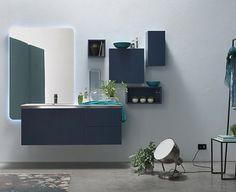 Composition de meubles pour la salle de bain e.GO D'AK BY Arcom. Nouveaux modules matériaux finitions et accessoires. Qui a dit qu'on ne pouvait pas laisser place aux rêves dans la salle de bain ? Place aux idées ! Créez ! Osez ! http://ift.tt/1y1ijcs #amsld #bathroom #interiordesign #architectedinterieur